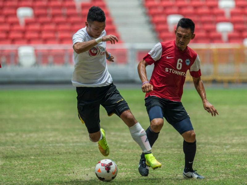 SportSG vs FAS football