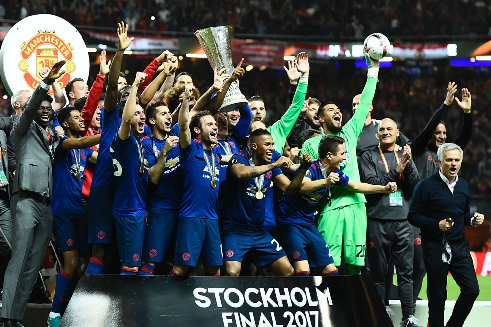 MUFC Europa Champions 2017