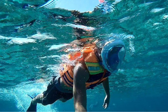Snorkeling at Gili Islands